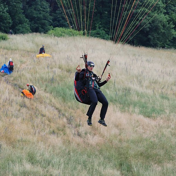 galerie Paragliding basic course