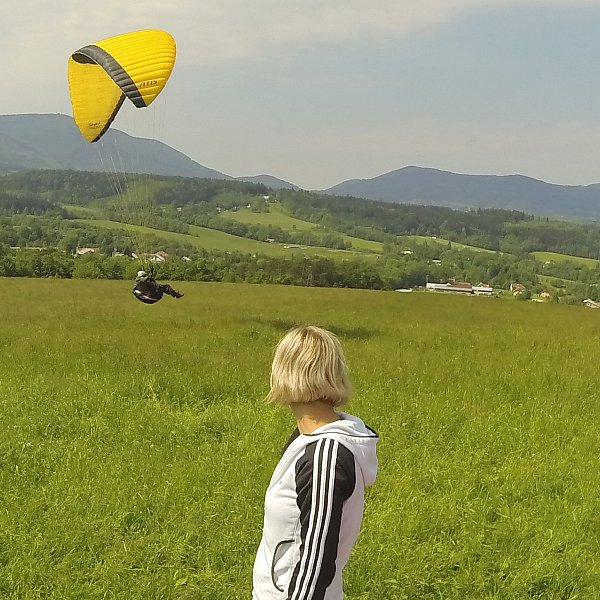 galerie 3. Paragliding basic course