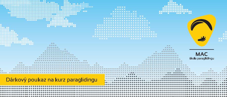 dárkový poukaz paragliding kurz