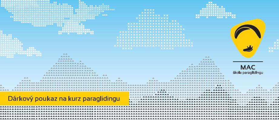 paragliding kurz dárkový poukaz dárek