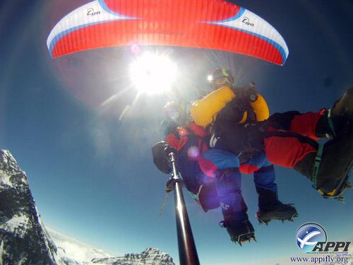 tandem paragliding everest